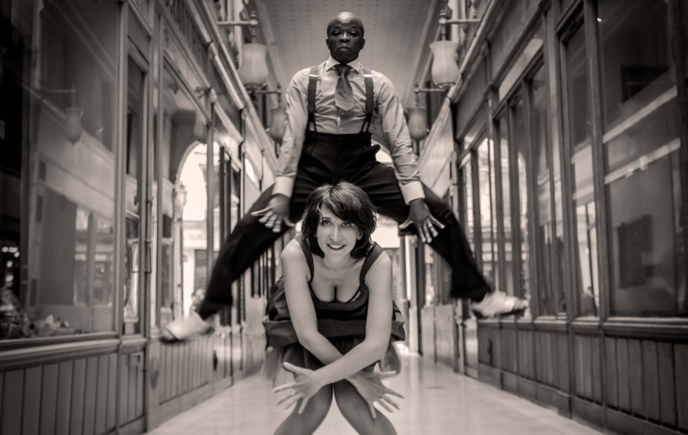 Lindy Hop Jenn et Miles, Aerials