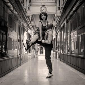 Aerials Lindy Hop Jenn et Miles