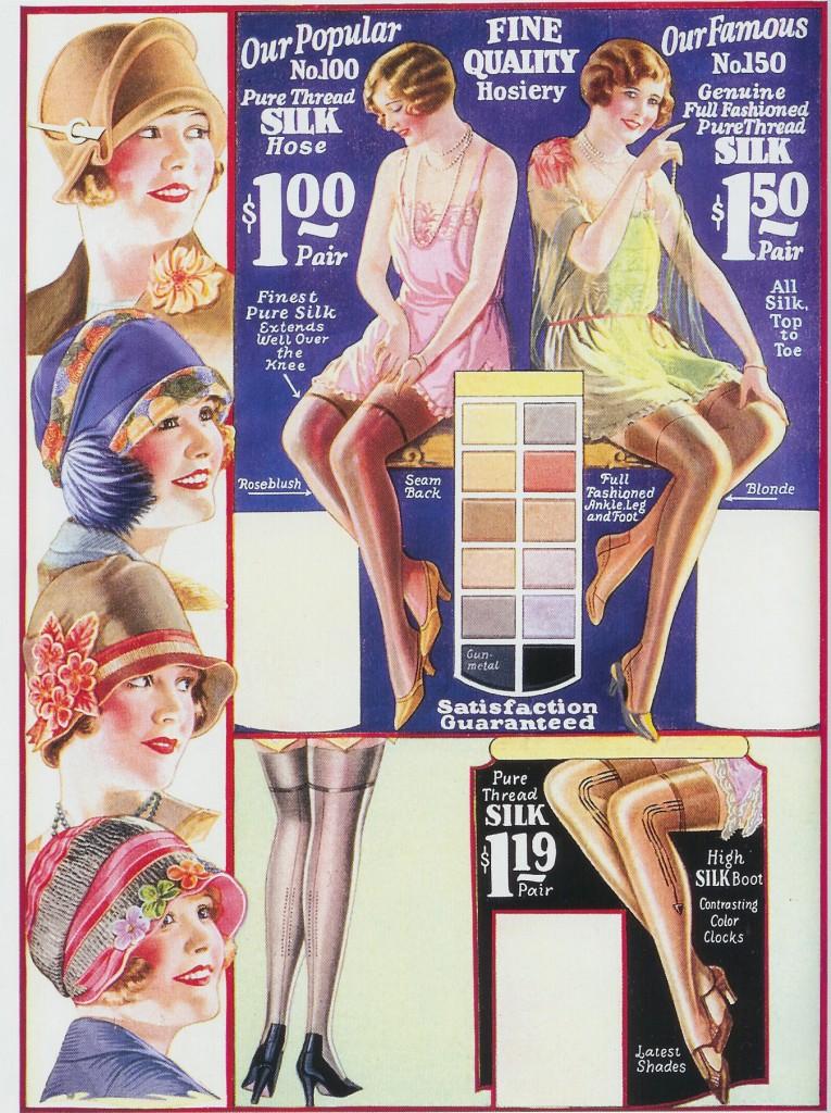 Mode vestimentaire des années swing 20's