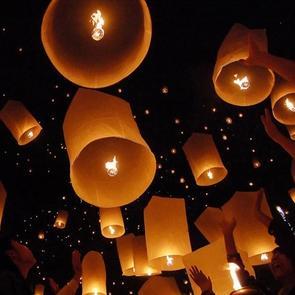 lanterne volante / Méduse Céleste