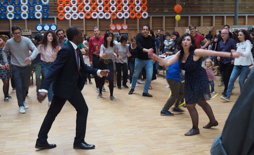 Jenn et Miles, Lindy Hop et Jazz Roots Paris