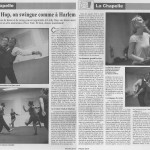 Journal le 18 ème du mois, interview danser le lindy hop à Paris avec Jenn et Miles